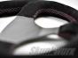 Skunkwurx SKX-335CF Carbon Fibre Steering Wheel - Pink Stitch