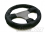 Skunkwurx SKX-335CF Carbon Fibre Steering Wheel - Black Stitch