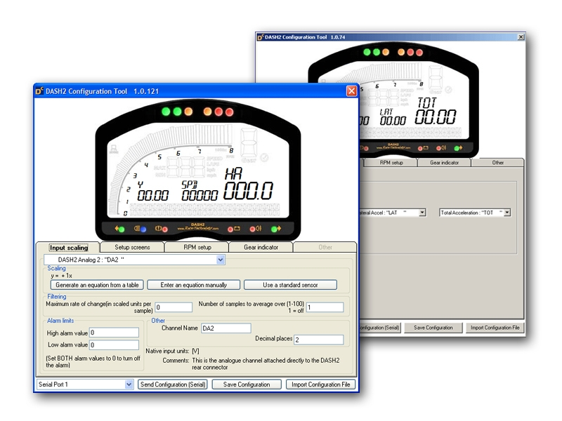 Race Technology Four Button Set For DASH2 Dashboard Unit