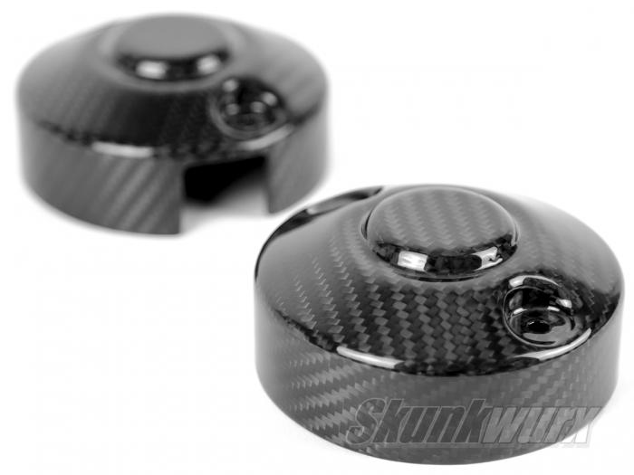 Skunkwurx Ariel Atom 3s/3.5/3.5R Carbon Fibre Rear Light Covers (Pair)